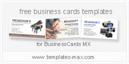 Download businesscards mx advanced business card maker software download purchase screenshots languages new business cards templates reheart Image collections
